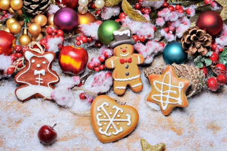 Christmas decoration - Christmas, Colors, Decoration, Cookies