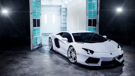 31 - Beautiful, White, Nice, Lamborghini