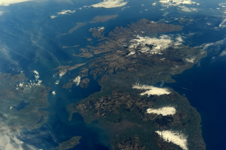 Scotland From Space - Scotland From Space, Scotland, Earth, Orbit