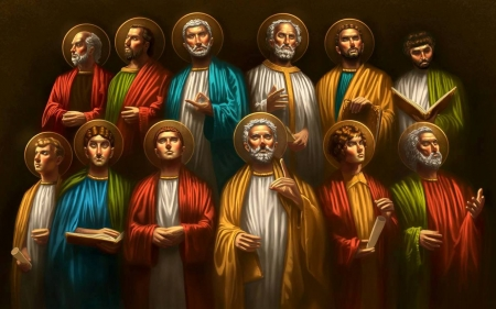 Image result for apostles painting