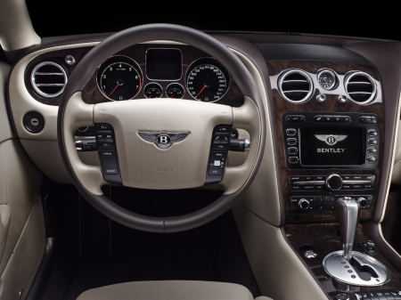 Bentley Continental Flying Spur - interior, Continental, Flying Spur, Bentley