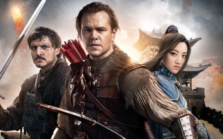 The Great Wall 2016 Movies Entertainment Background Wallpapers On Desktop Nexus Image 2203660