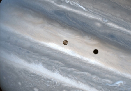 Io over Jupiter - Planet, Jupiter, Moon, Io