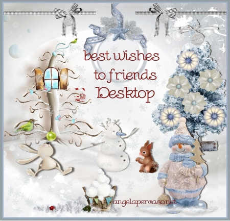 wishes the desktop friends