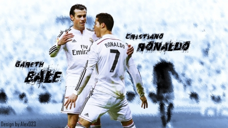 Cristiano Ronaldo and Gareth Bale - Duo, Real, Deadly, Madrid