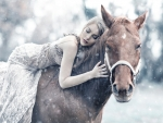 Beauty and Horse ♥