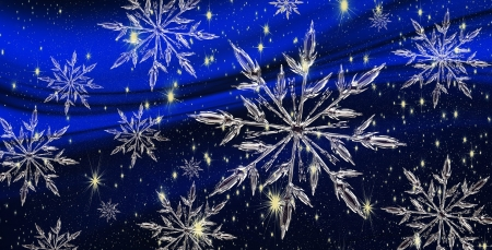 Snowflakes! - holidays, christmas, happy, snowflakes