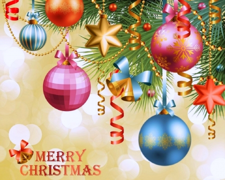 Merry Christmas - stars, Christmas, ornaments, holidays, love four seasons, xmas and new year, winter, balls, decorations, collages
