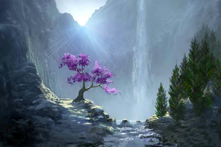 Heavenly morning - Other & Nature Background Wallpapers on