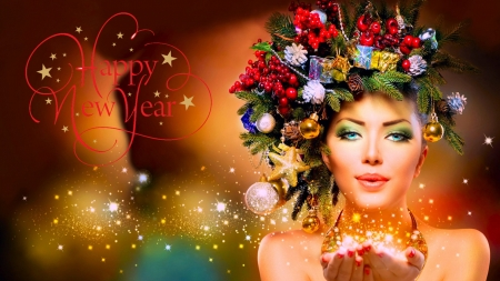 Happy New Year - Other u0026 Abstract Background Wallpapers on