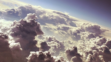 up in the clouds - fun, cool, forces of nature, clouds, nature