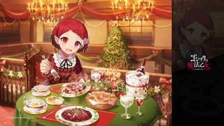 Digitalis - food, christmas, tagme, digitalis, anime, gothic wa mahou otome, manga, craciun, girl
