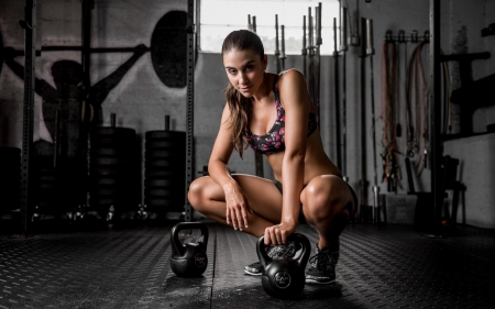 Women In Gym Models Female People Background Wallpapers