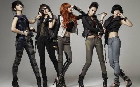 4 Minute - singers, celebrity, 4 Minute, cool, model, actress, people, fun