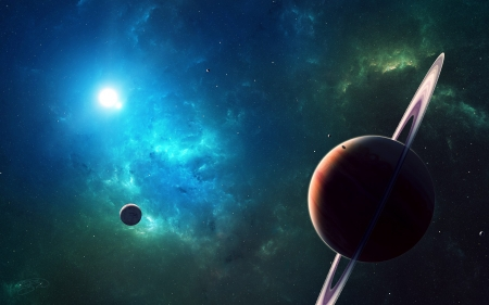 You Are Going - stars, planets, moon, 3d, space, galaxies