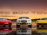 Big Boy Toyz Wallpaper - Ferrari/Bentley/Ferrari