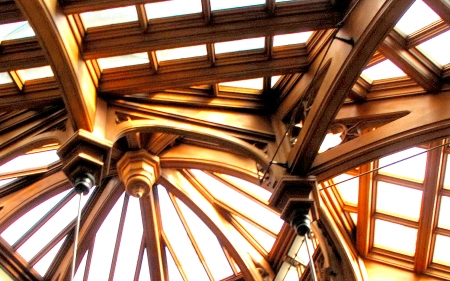 Architectural Design - structure, skylights, ceiling, architecture, window