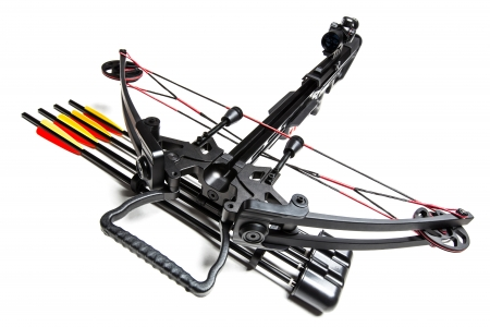 Crossbow - compound, Crossbow, weapon, arrows
