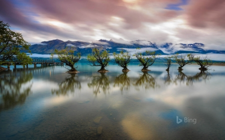 Lake Wakatipu near Queenstown New Zealand - Wakatipu, Queenstown, New, Zealand, Lake, near