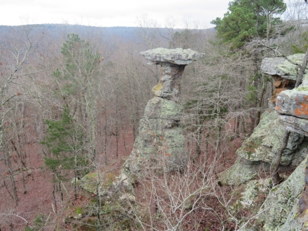 Pedestal Rock - nature, hiking, outdoors, mountains