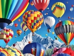 Balloons Over the Mountains F1C