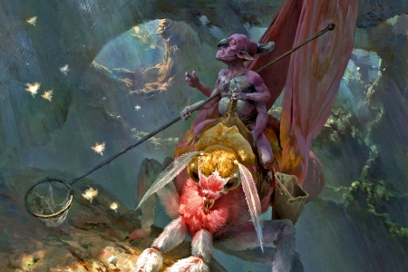Fairy Hunter - fantasy, magic, goblin, fairy