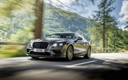Bentley Continental GT Supersports - cool, car, GT Supersports, fun, Bentley Continental