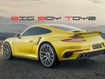 Big Boy Toyz Wallpaper - Porsche 911 Turbo S Coupe 2016