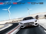 Big Boy Toyz Wallpaper - Mercedes AMG GT 2016