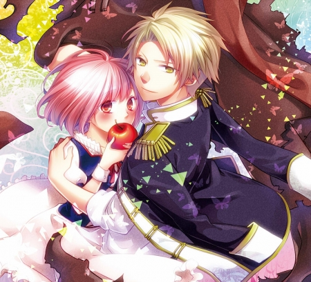 Norn9 - romance, visual, novel, norn9, manga, cute, anime, love, couple