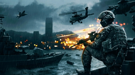 Battlefield 4 - bf4, game, ps3, battlefield