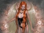 Beautiful Redhead Angel