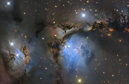 M78 and Orion Dust Reflections - stars, cool, space, fun, galaxies