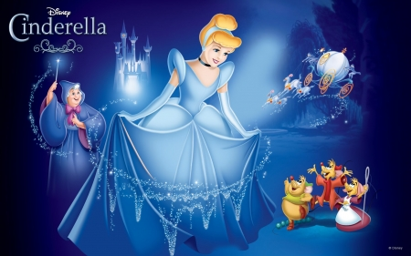 *Pure Magic* - magic, cinderella, blue, disney