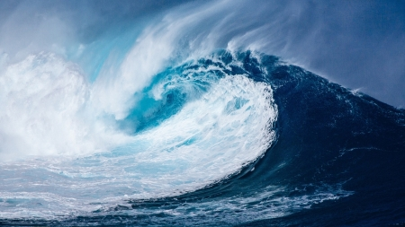 Wave - ocean, nature, wave, blue