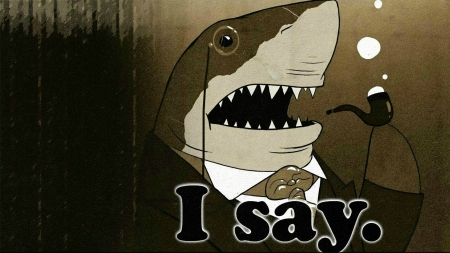 funny shark - funny, entertainment, shark, fun, cool