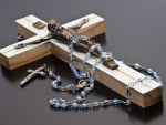 Rosary and Crucifix