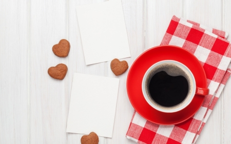 Coffee ♥ - with love, moment, coffee, valentine day, from the heart, cup, romantic day, hearts