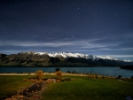Silent night, Lake Wakatipu,  New Zealand
