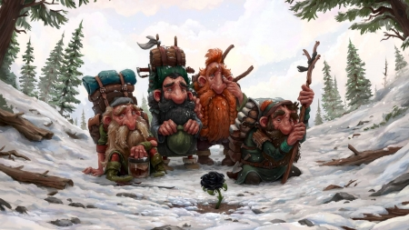 trolls - fantasy, cool, trolls, fun, abstract
