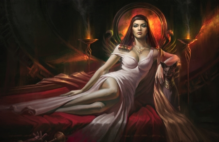 Priestess Fantasy Abstract Background Wallpapers On