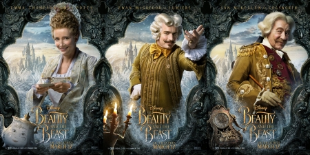 Beauty And The Beast 2017 Movies Entertainment Background Wallpapers On Desktop Nexus Image 2223376