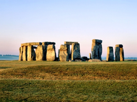 Stonehenge - England, Wiltshire, scenery, National Moument, photography, wide screen, beautiful, Stonehenge, architecture, photo