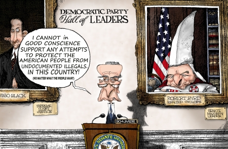 Chuck Schumer Against Protecting America..