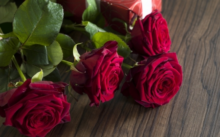 For my ♥ - velvet, roses, gift, red velvet, for my love, moment, love, passion, romantic day