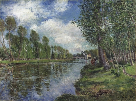 Alfred Sisley Painting - art, skill, Alfred Sisley, rare, painter, color, Painting, value, vintage