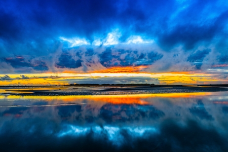 Dramatic sunset sunsets nature background wallpapers on desktop nexus image 2226434 - Dramatic wallpaper ...