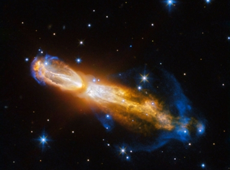 The Calabash Nebula from Hubble - stars, fun, nebula, cool, galaxies, space