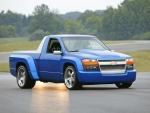 BLUE SILVER CHEVROLET COLORADO