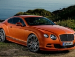 ORANGE BENTLEY CONTINENTAL
